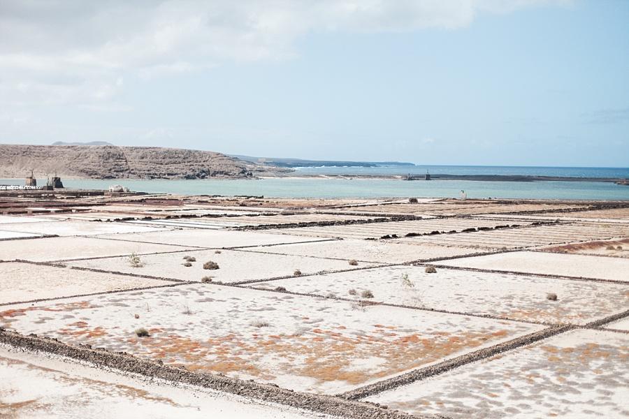 Lanzarote salinas de janubio