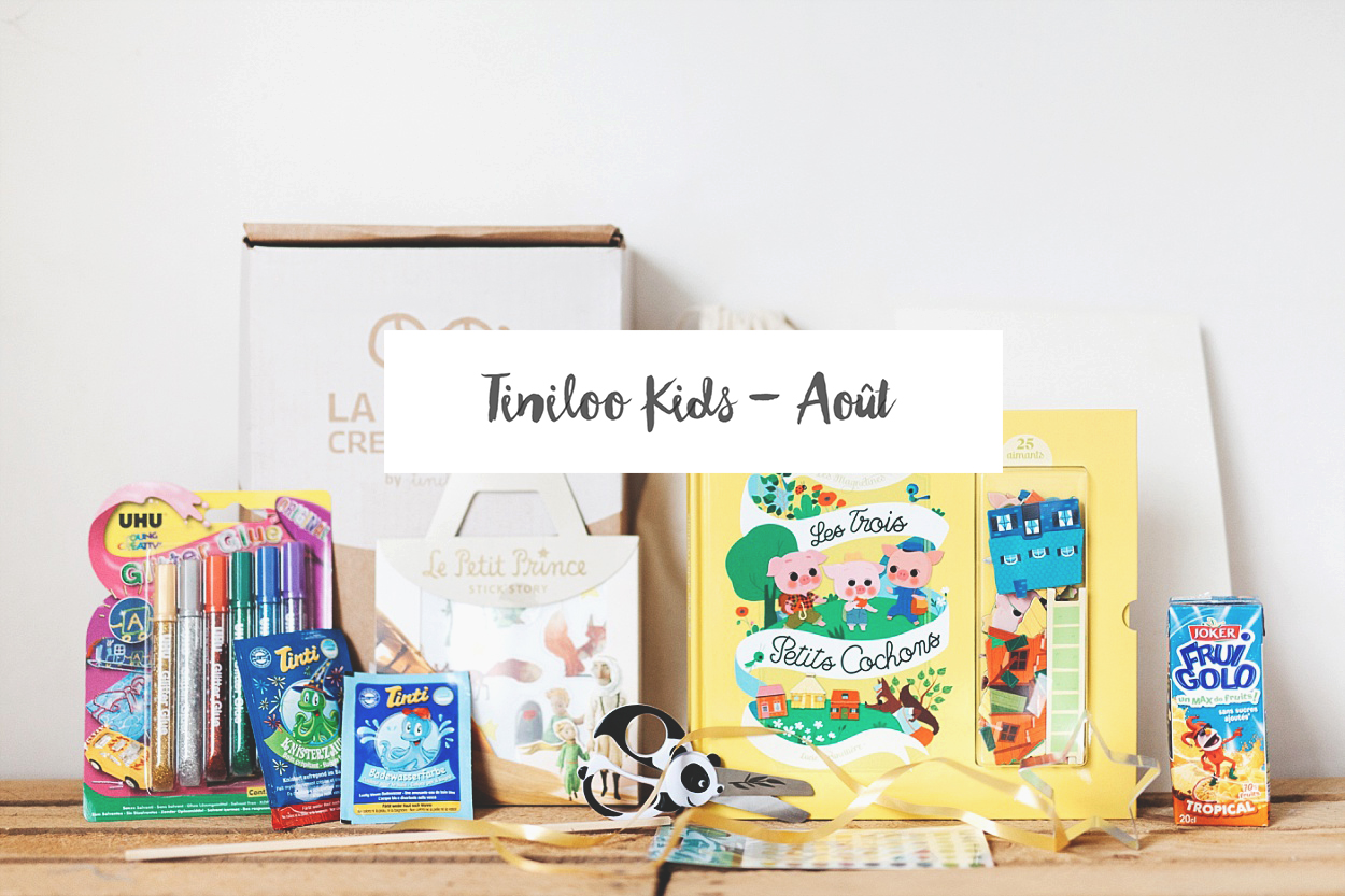 [ UNBOXING ] : TINILOO « ABRACADABRA ! » [AOUT 2016]