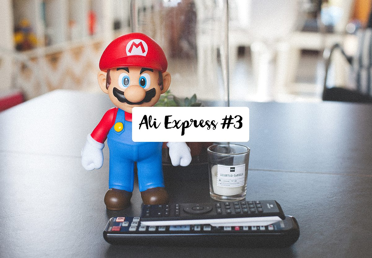 Mes trouvailles Ali Express #3