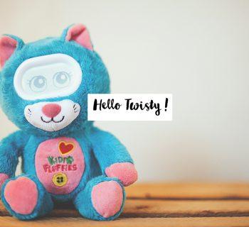 Hello Twisty ! #Vtech #Kidifluffies
