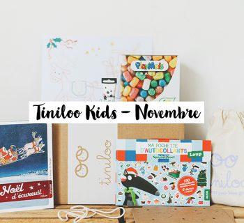 [ UNBOXING ] : TINILOO « En attendant le Père Noël… » [Novembre 2016]
