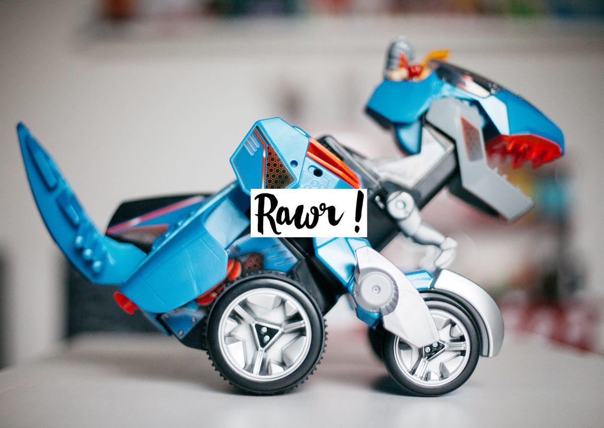 Creed le super Dino switch & go #Rawr #Vtech