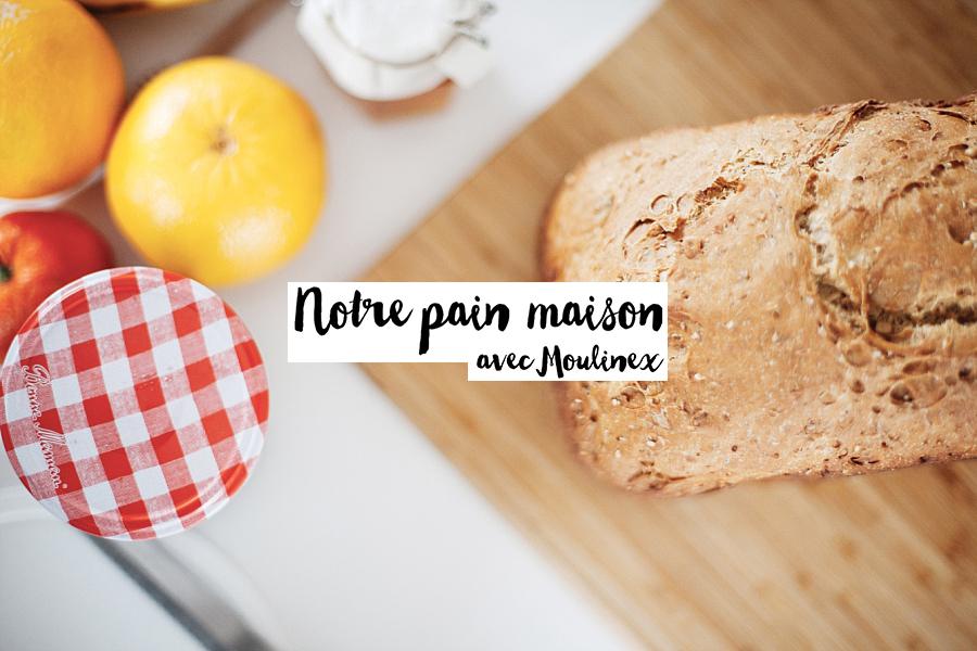 Moulinex : On fait notre pain maison
