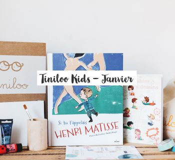 Box créative Tiniloo – Janvier 2017
