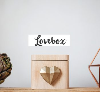 Lovebox, Les mots d'amour version 2.0
