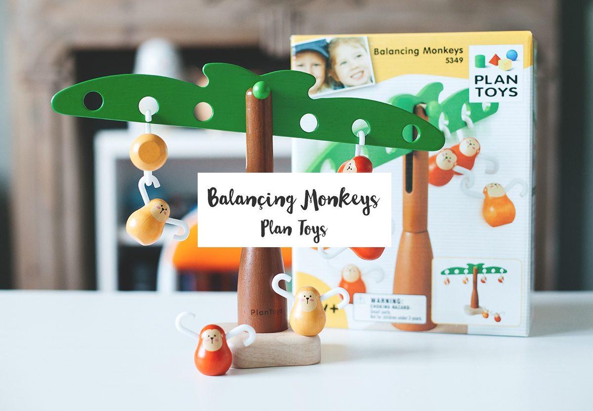 Balançing Monkeys #Plan Toys