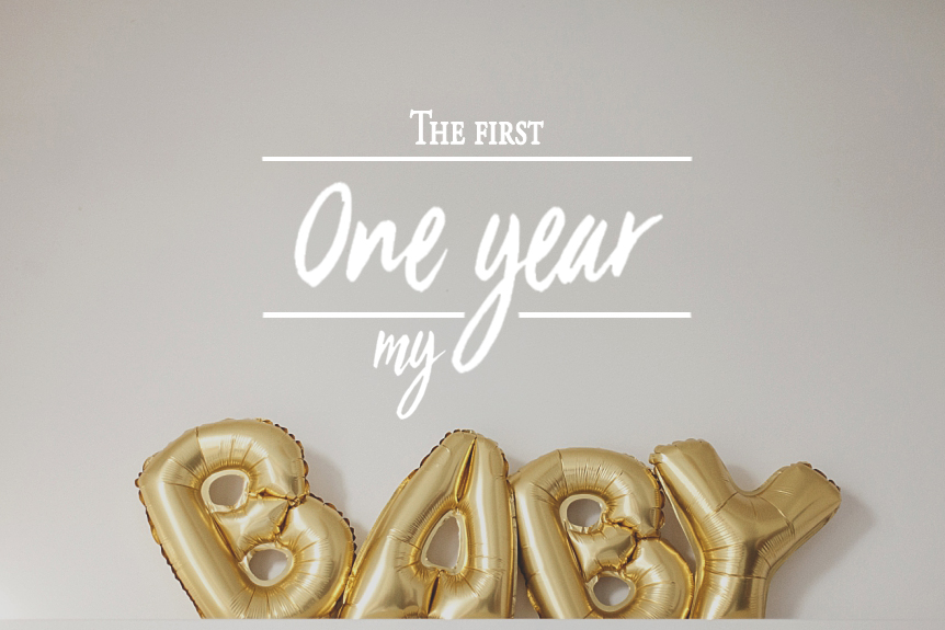 One year – twins