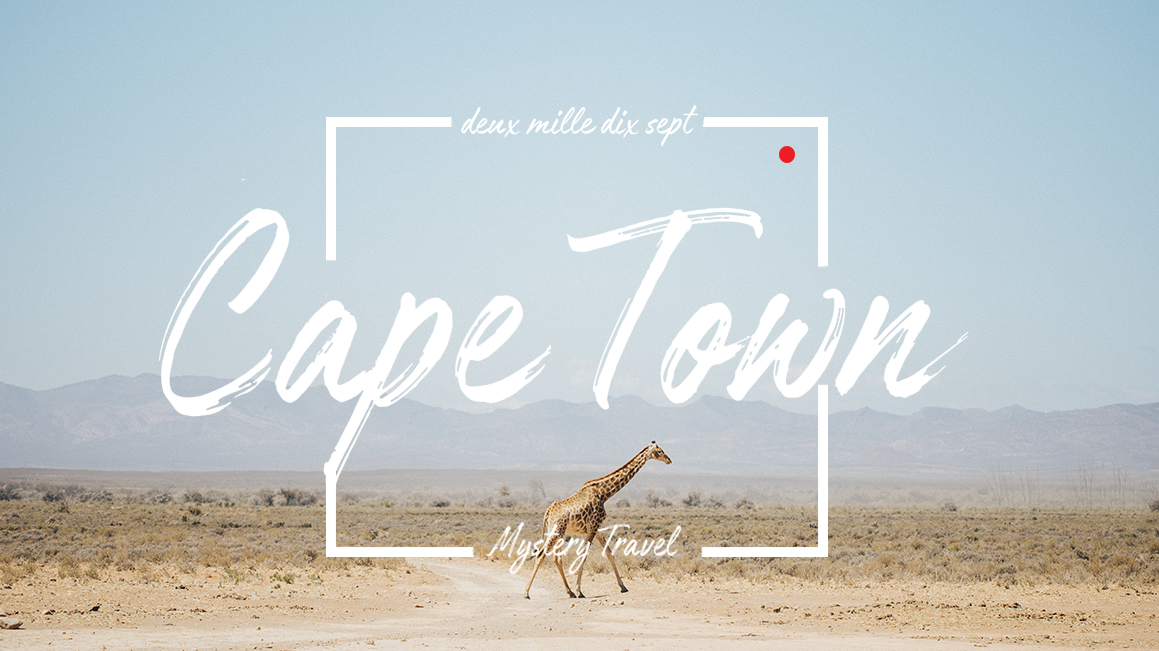 Cape Town – Video Mystery travel