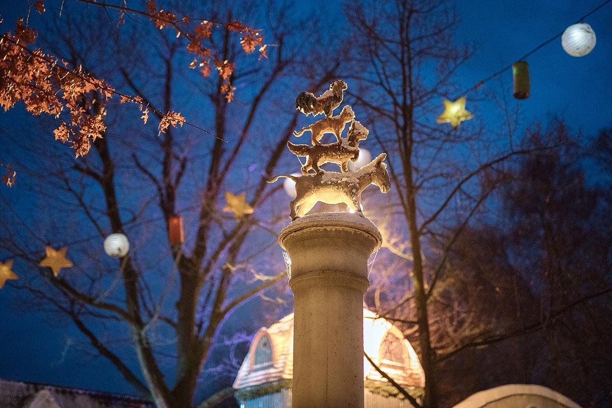 Efteling hiver noel nuit