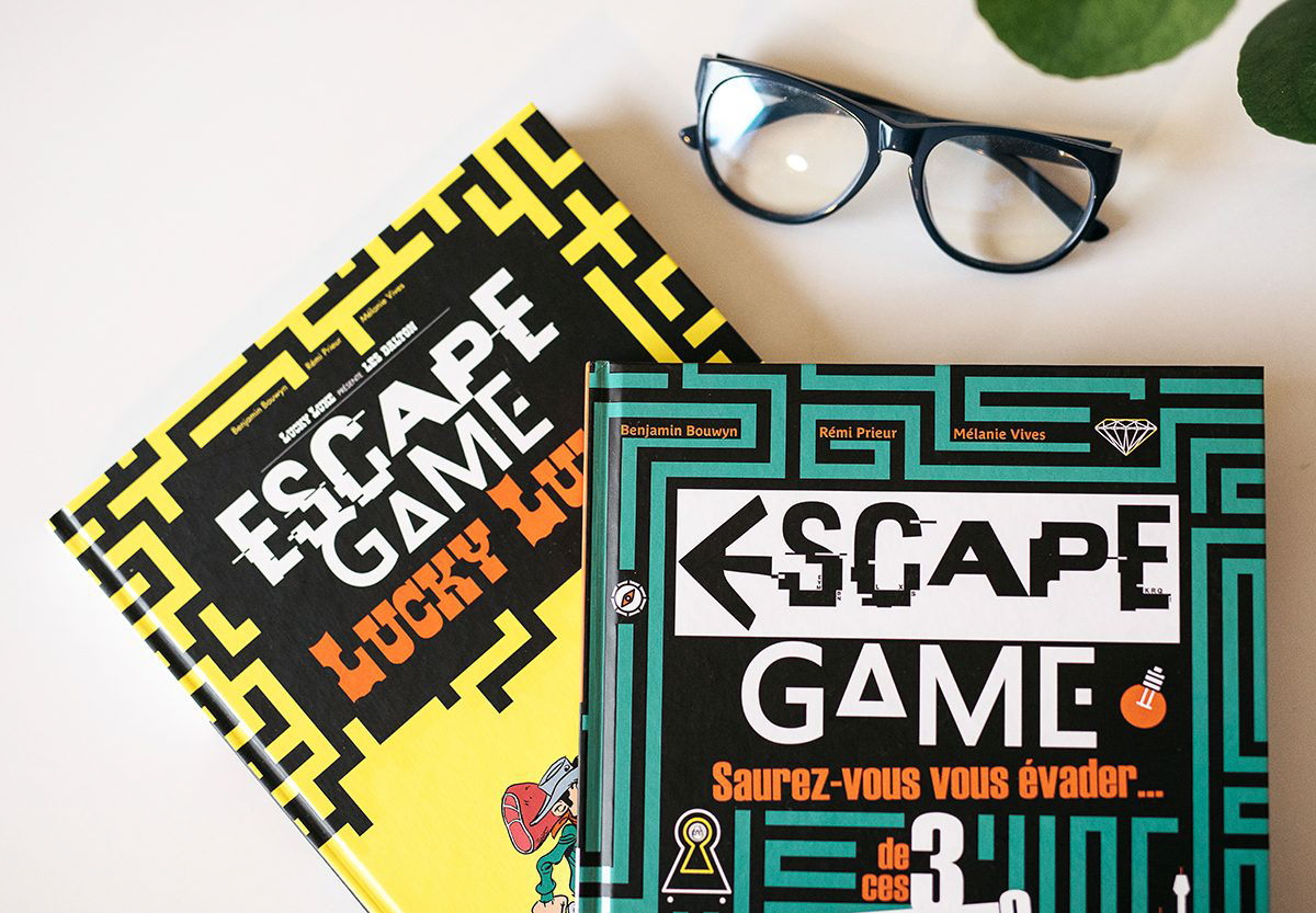 On a testé les livres Escape Game