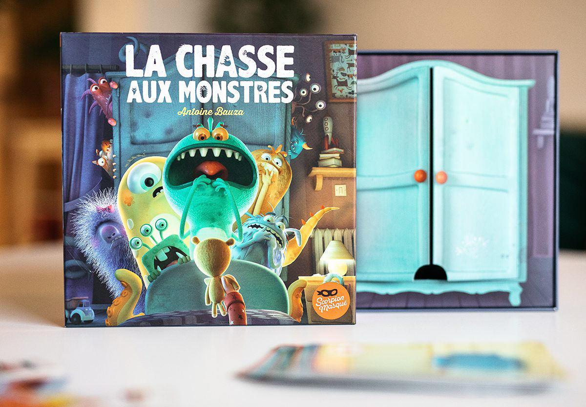 La chasse aux monstres – Un jeu de société qui met les peurs au placard !