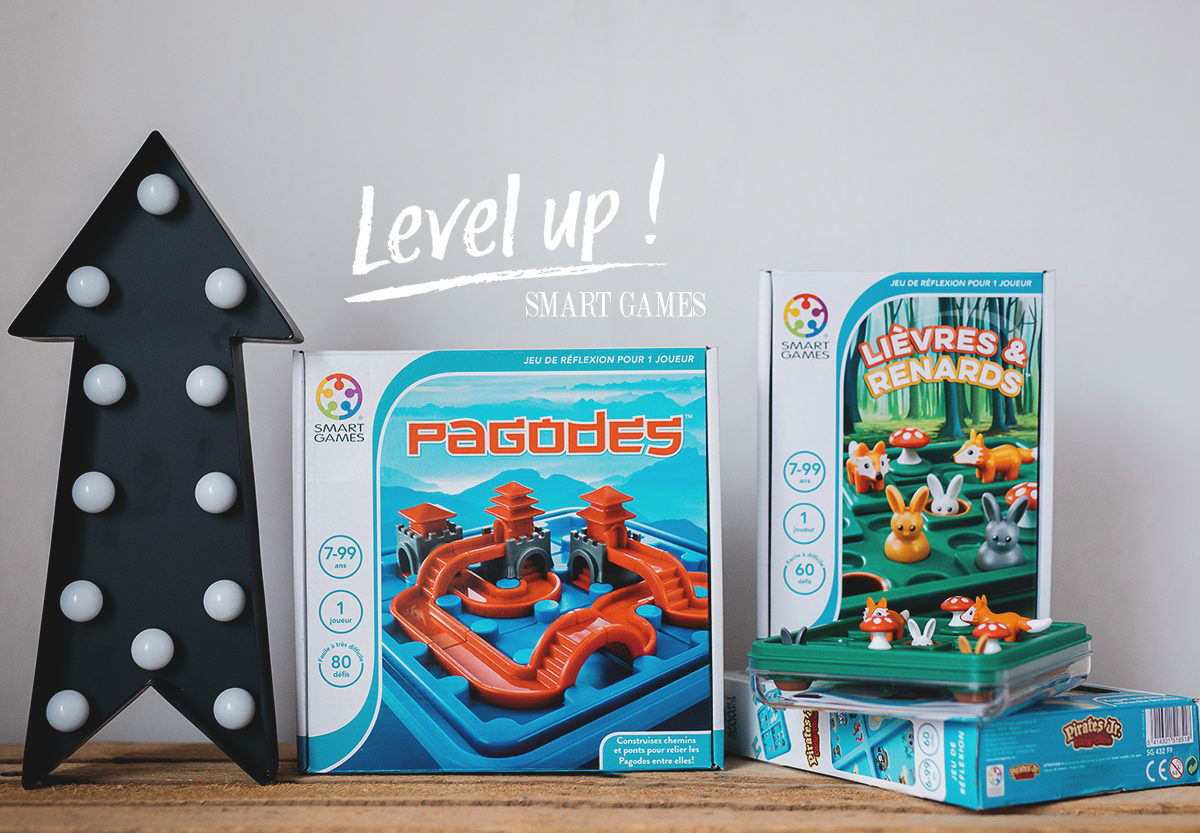 Les nouveautés Smart Games : Level up !