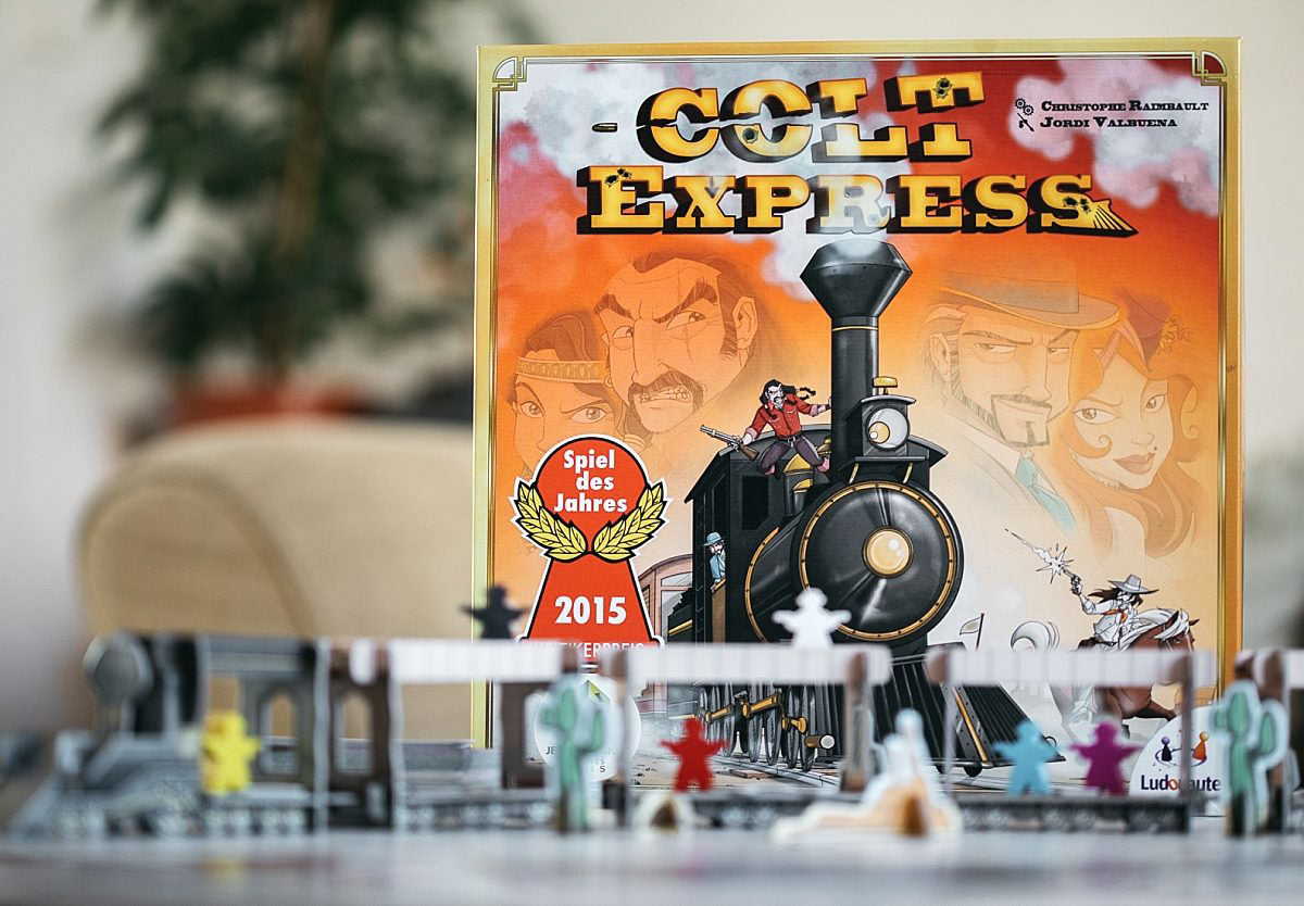 Colt Express, la loi du western !