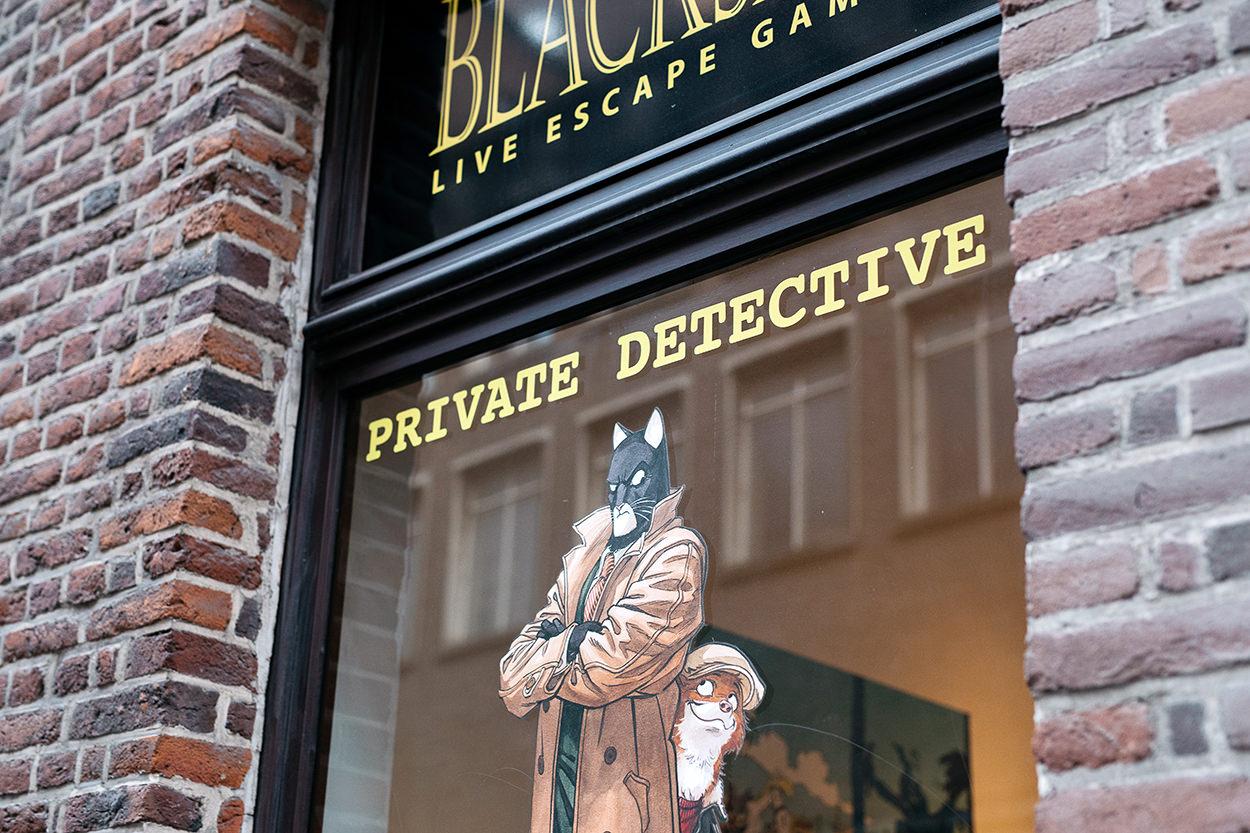 Escape Prod Blacksad Bruxelles Escape game