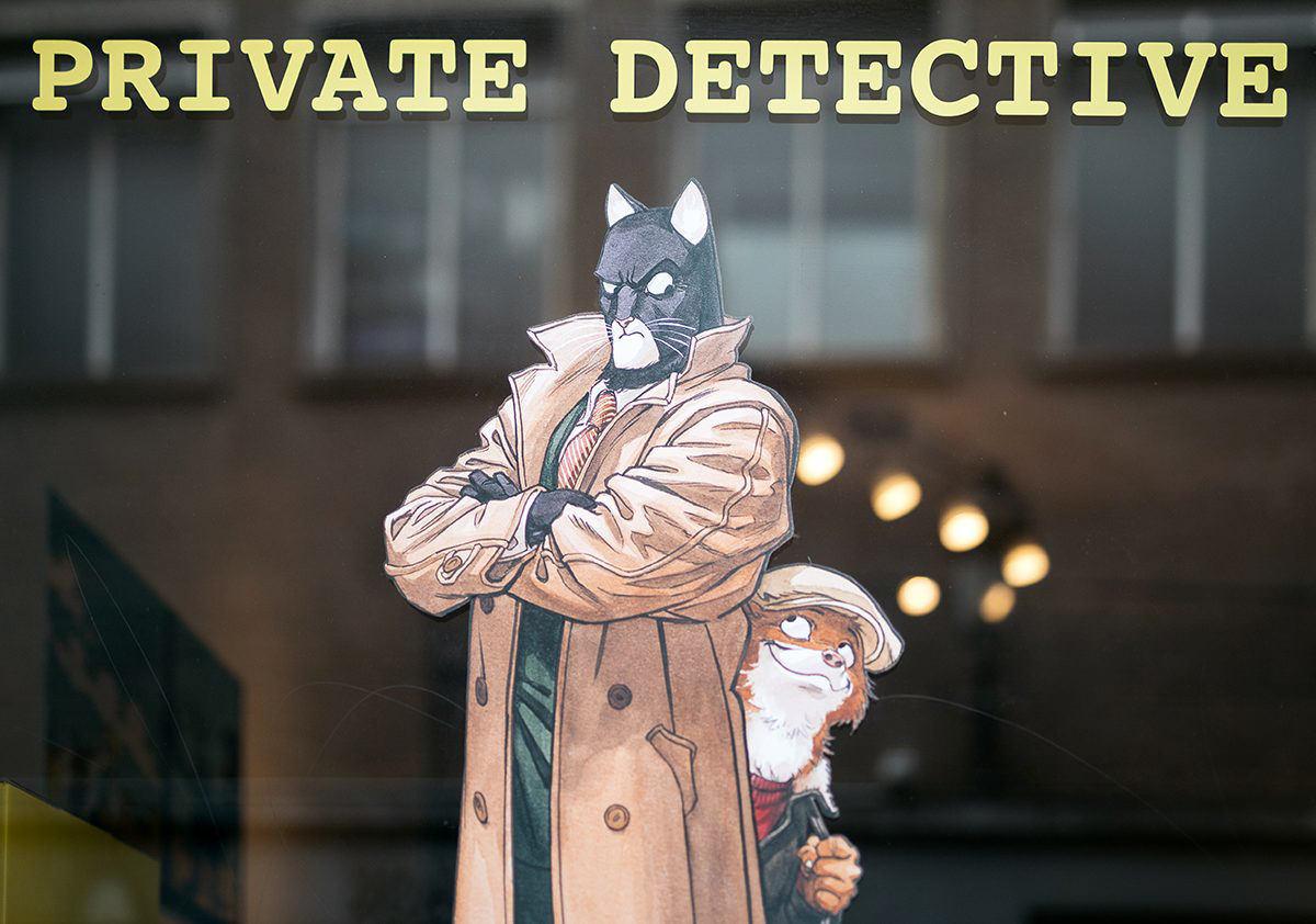 Blacksad, the private detective – Escape Prod