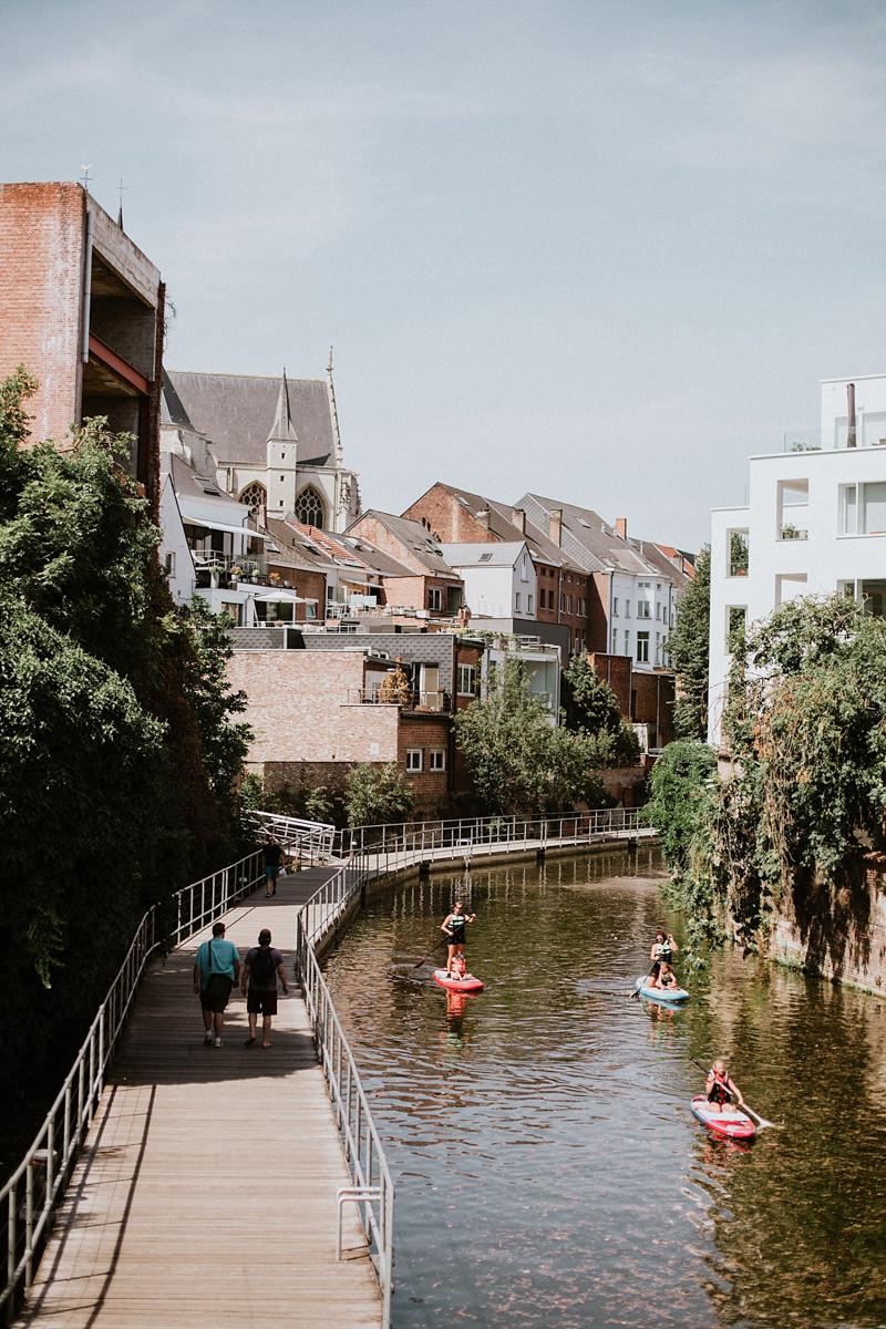 Malines, Mechelen, Martin's hotel Patershof, Belgique, Citytrip, logement insolite, Dyle