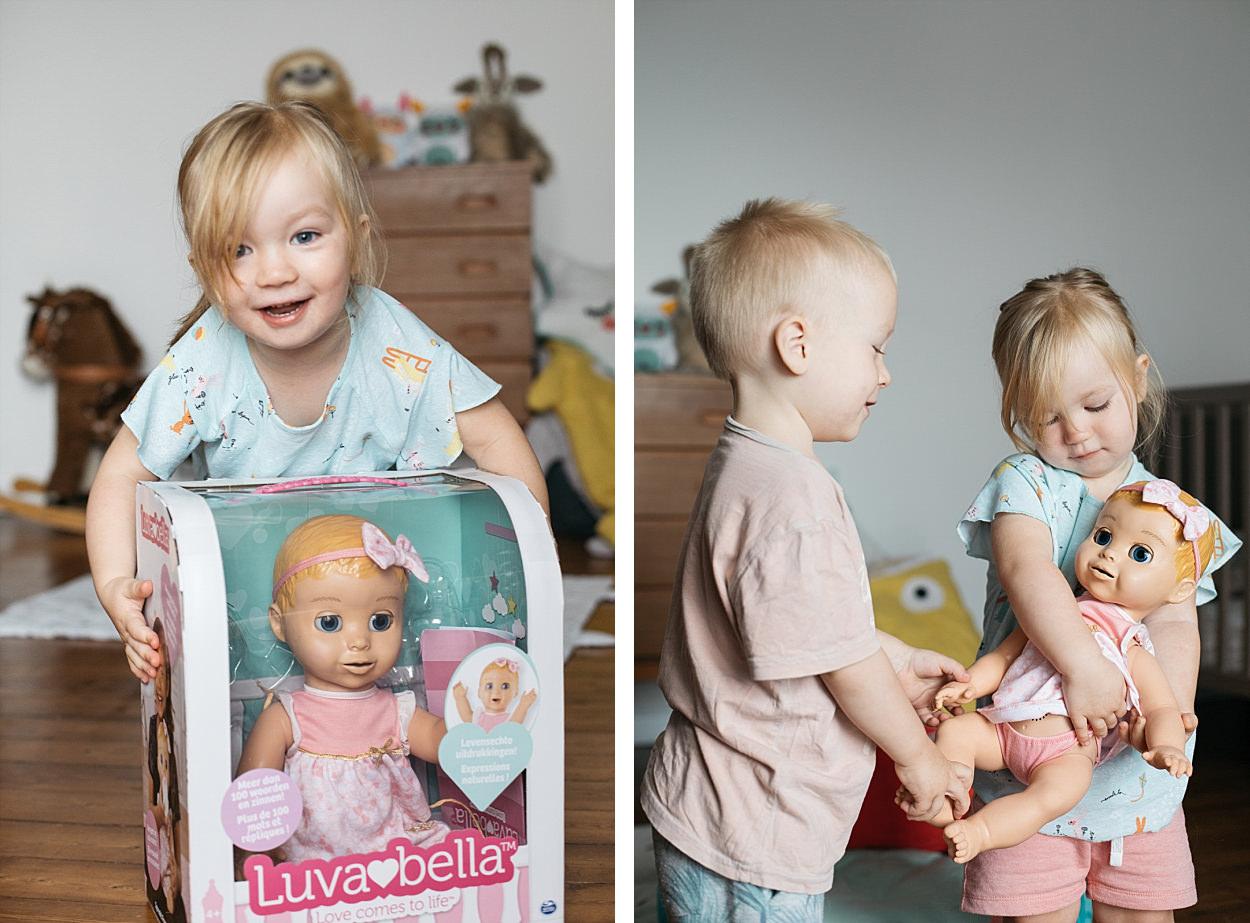 Luvabella, Spinmaster, poupée interactive