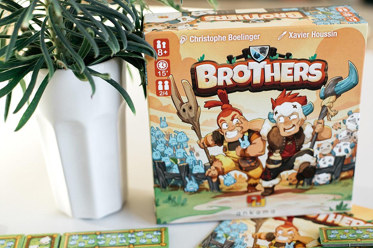 Brothers Ankama Wakfu Asmodée jeu de société