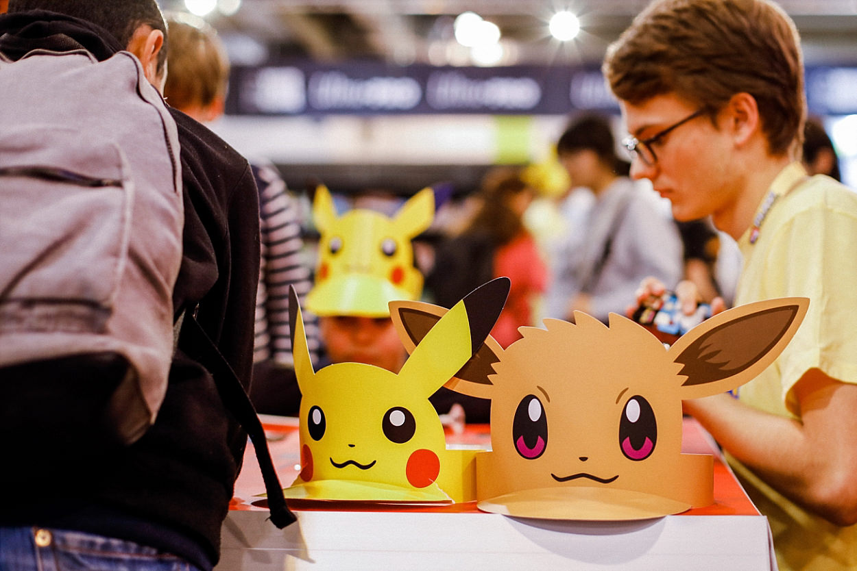 Messe Essen Spiel 2018 Asmodée jeu de société Iello Matagot ludiste pokemon