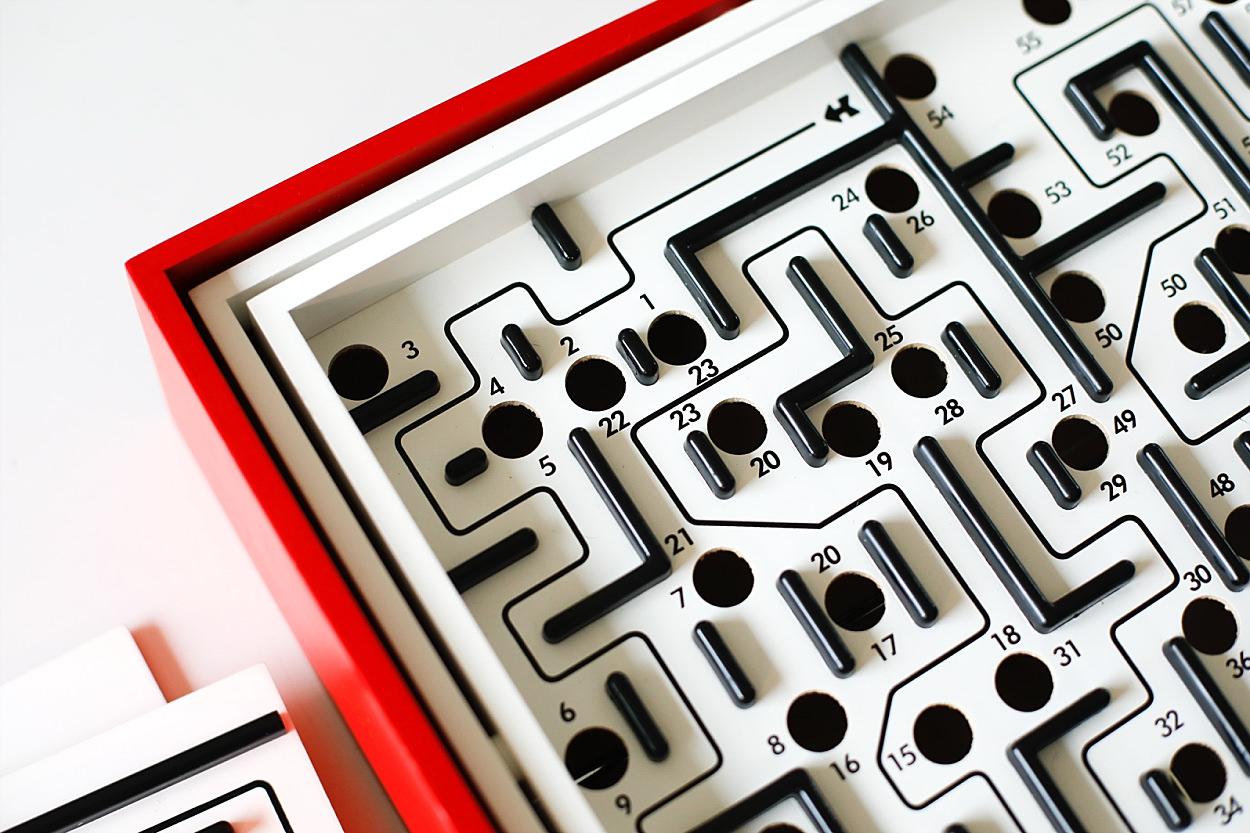 Ecoterre Brio labyrinthe jeu en bois jouet