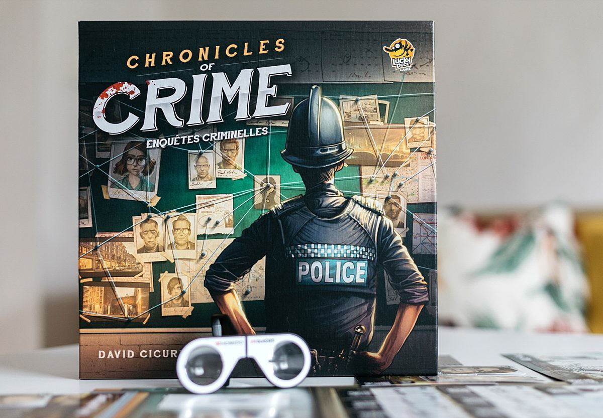 Chronicles of Crime, l'enquête 2.0