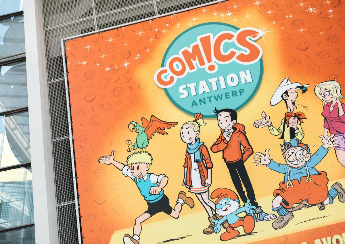 Comics Station – la plaine de jeux indoor d'Anvers