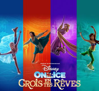 Disney on Ice : crois en tes rêves