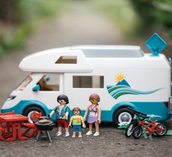 En route avec le camping car Playmobil !