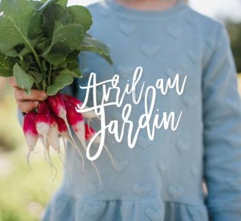 Avril au jardin / premiers semis et potager