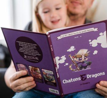 Chatons & Dragons, la BD dont tu es le tout petit héros